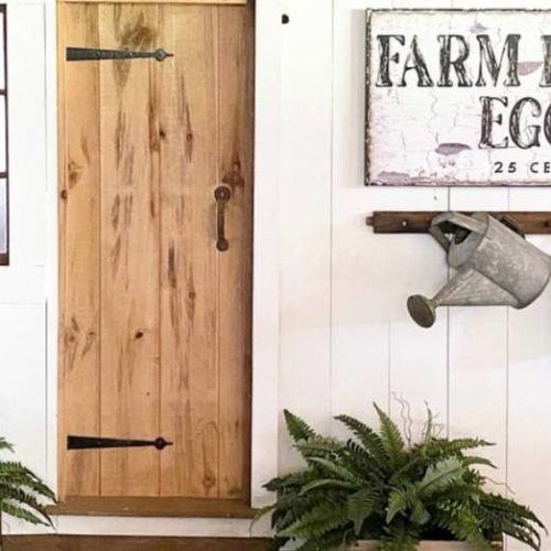 Top 4 Designs to Have in Your Current Outdoor Farmhouse Decor